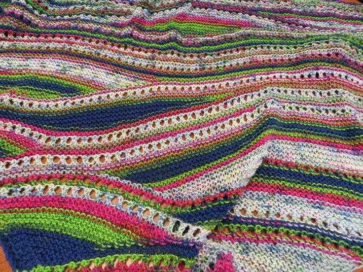 Yarn - Little Bird       Pattern - Bermuda Scarf by Ilga Leja