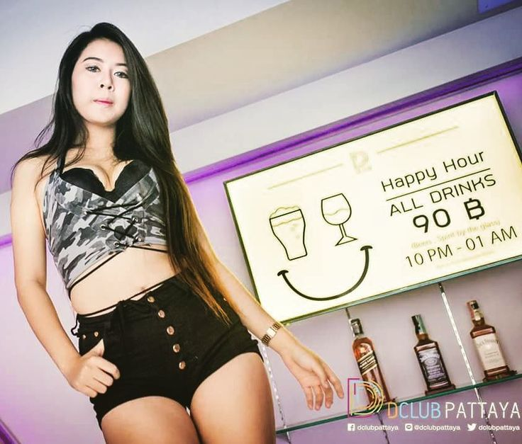 Why limit happy to an hour ?! every night : 10pm - 1am ;  All drinks 90 thb ! ( Beer Spirit by the glass )  open bottle and get Unlimited mixer !  #dclub #dclubpattaya #walkingstreet #happyhour #pattaya #partytime #f4f