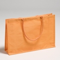 Orange Juco Bag