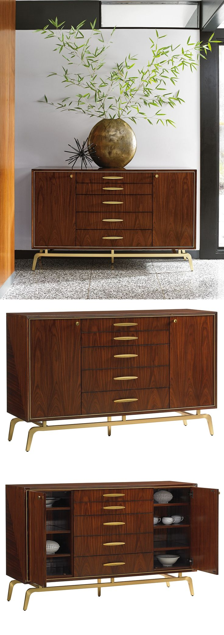 Living Room Sideboards And Cabinets 17 Best Ideas About Buffet Moderne On Pinterest Meuble Retro