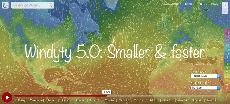 Wind map and weather forecast for kiters, surfers, pilots, sailors and anyone else. Worldwide animated weather map, with easy to use overlays and precise spot forecast. METAR, TAF and NOTAMs for any via Paul