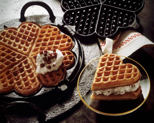 Remember those flippy waffle irons from college? So fun, right? Put a waffle station at your wedding with syrup, whipped cream, fruit, or even candies as toppings.