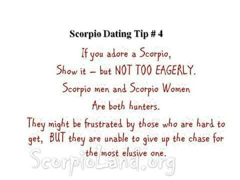 Hookup Tips For A Scorpio Man