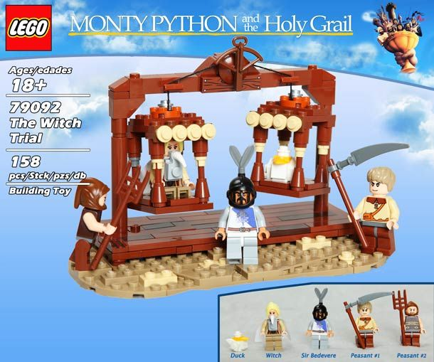 LEGO Monty Python and the Holy Grail Playsets!