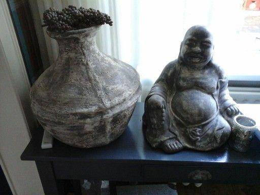 Deco pot en boeddha