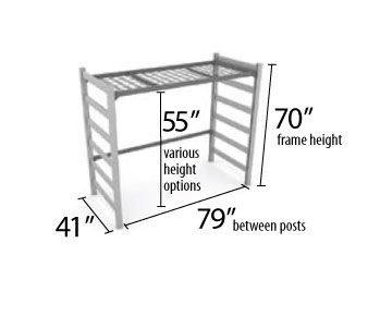Dorm Loft Bed Dimensions Woodworking Projects Amp Plans