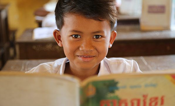 Reading Kit: This reading kit will help children in Cambodia learn to read with flash cards and word games that make learning lots of fun. Children can use the kits at school or take them home to study.