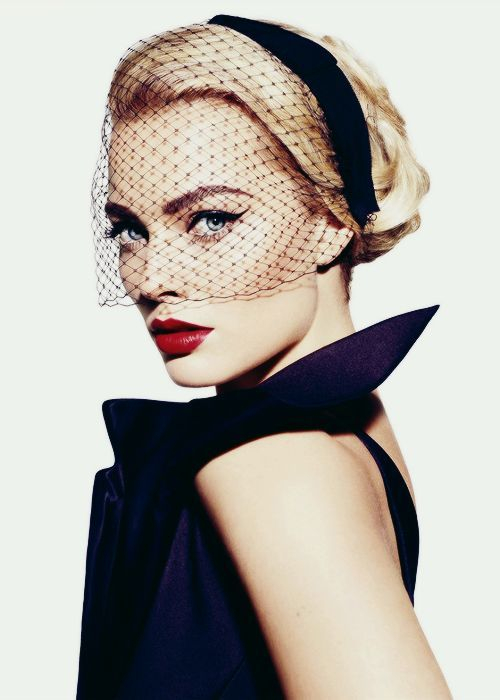 The Lady In Black/Margot Robbie  by Miguel Reveriego Vanity Fair 2013/The Lady In black Photos/Tumblr