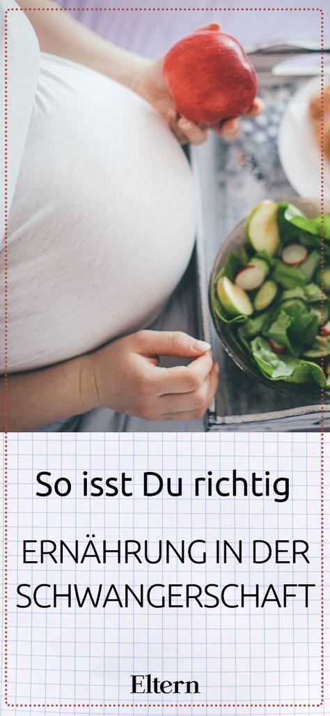 Diet in pregnancy: So you eat right – Essen