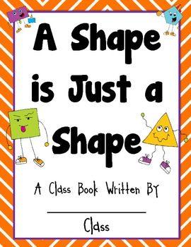A Shape is Just a Shape FREEBIE {Class Book} {Common Core}