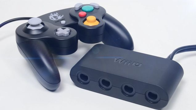 I'm so happy that they reintroduced the GameCube controller for Super Smash Bros!
