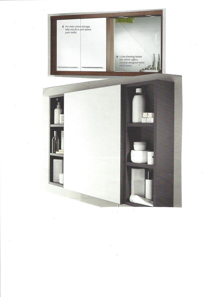 Combined Shelf/mirror/lighting Ideas