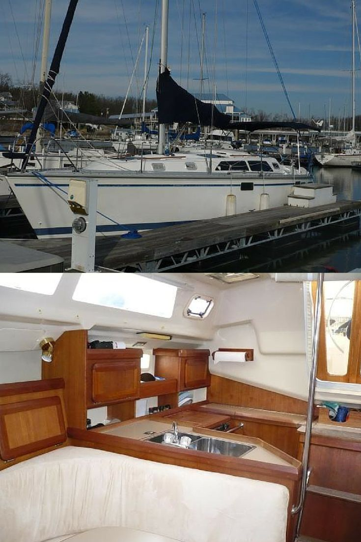 33.5' Hunter Sailboat, 1994. Listed @ $46,000