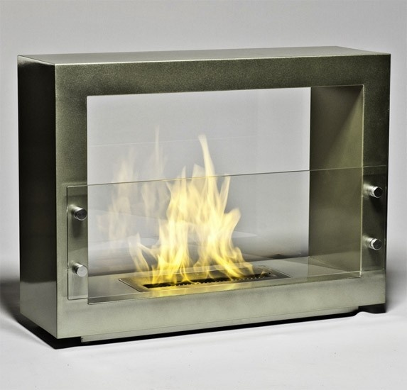 Eco Fireplace from Brasa, Hudson Slate Fireplace (Floor Model) | Viesso