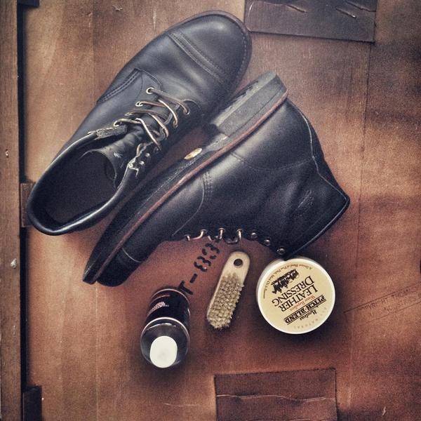 "CHIPPEWA BOOTS #1901M31 6"" BLACK ODESSA HOMESTEAD BOOT"
