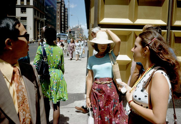 Joel Meyerowitz (born 1938) is a New York based street / landscape / portrait photographer. Starting back in 1962, he's still going strong today. He was sponsored to document the aftermath of September 11, being the only photographer allowed into Ground Zero in the period immediately after the attacks.