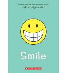 Summer Challenge Week 7 Picks: Young Adult  Smile by Raina Telgemeier