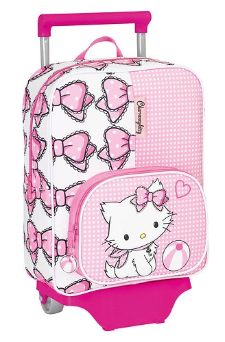 Charmmy Kitty Trolley Koffer Hello Kitty Trolley Kinder Koffer Kitty EDEL Neu