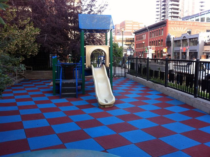 Rubber Floor Tiles Outdoor For Playground