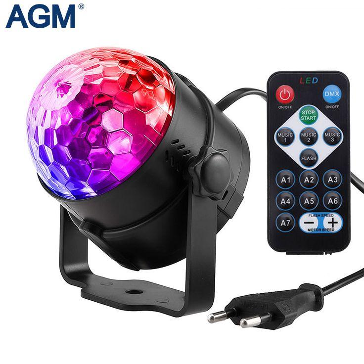7 kolory DJ Disco Ball Lumiere 3 w Aktywowane Dźwiękiem Projektor Laserowy RGB Etap efekt Oświetlenia Lampy Światła Muzyka Boże Narodzenie KTV Party