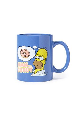 The Simpsons Donut Coffee Mug   Forever 21   #f21home