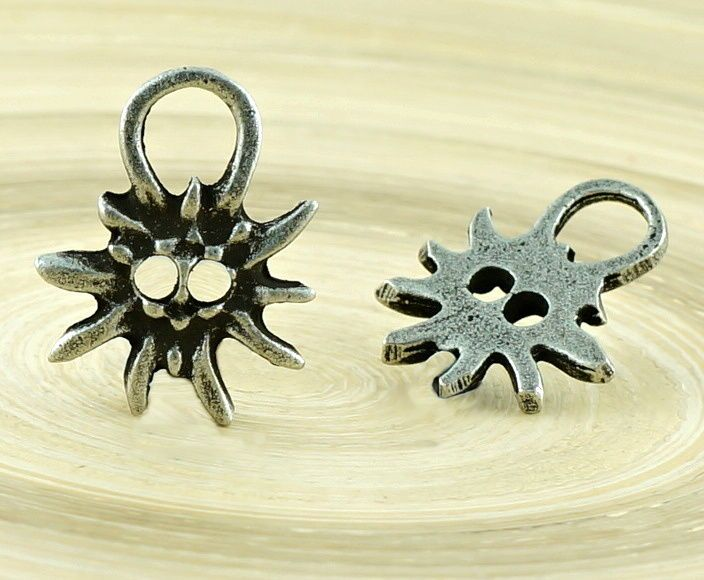 ✔ What's Hot Today: 1pc Flower Sun Flower Large Eyelet Two Holes Czech Findings Matte Aged Antique Silver Bohemian Pendant Focal Rustic Handmade 18mm https://czechbeadsexclusive.com/product/1pc-flower-sun-flower-large-eyelet-two-holes-czech-findings-matte-aged-antique-silver-bohemian-pendant-focal-rustic-handmade-18mm/?utm_source=PN&utm_medium=czechbeads&utm_campaign=SNAP #CzechBeadsExclusive #czechbeads #glassbeads #bead #beaded #beading #beadedjewelry #handmade