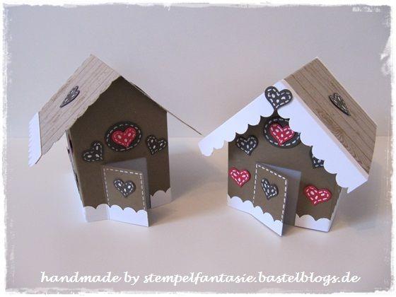 Lebkuchenhaus Stampin`Up! Weihnachten Teelicht Gingerbread House