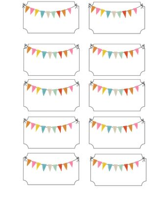 Carnival address label printable