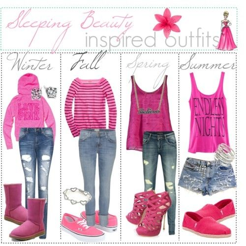 Sleeping beauty inspired outfitsDisney Princess casual for our princess breakfast!