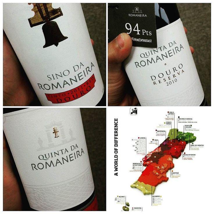 Portugal value wine tasting 2016. 04. 15  1. Quinta da Romaneira Sino 2011 2. Quinta da Romaneira 2009 3. Quinta da Romaneira Duoro reserva 2010  260년간 와인을 만들어온 탑 밸류의 포르투갈 스틸와인 테이스팅. 포트와인이 유명한 포르투갈의 스틸와인은 정말 코스트 퍼포먼스가 어마어마했으며 시간을 두고 지켜봐야겠지만 잠재적발전성 또한 무궁무진하다는걸 느낀 테이스팅  #portugal#douro#quinta#romaneira#touriga#nacional#reserva#value#f4f#follow#instawine#instalike#daily#wine#포르투갈#두오로#로마네이라#리제르바#팔로우#인스타와인#와인#와인노트#좋아요#소통#맞팔#인친#일상#와인스타그램#테이스팅 by adonis815