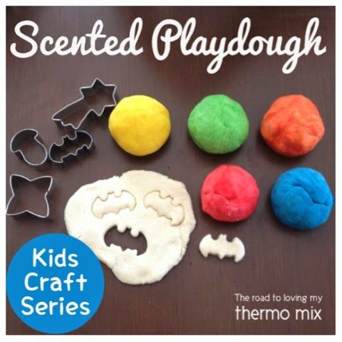Playdough is a hit in this house. I don't have time to cook and cool Playdough so we stick to the non cooked variety. Once left to sit for 15 minutes or p