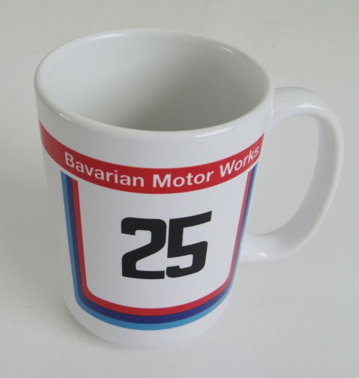 BMW+Racing+Bavarian+Motor+Works+Coffee+Mug