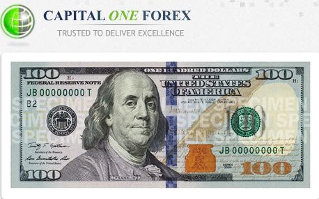 CAPITAL ONE FOREX $ 100 NO DEPOSIT BONUS