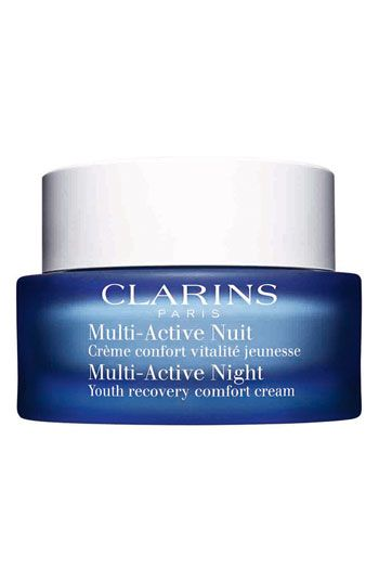 Clarins 'Multi-Active' Night Youth Recovery Comfort Cream available at #Nordstrom. Another strong like not love and for the same reasons, too heavy and greasy.