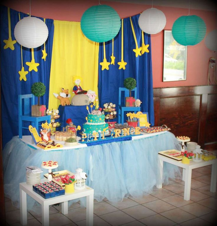 The little prince baby shower   CatchMyParty.com