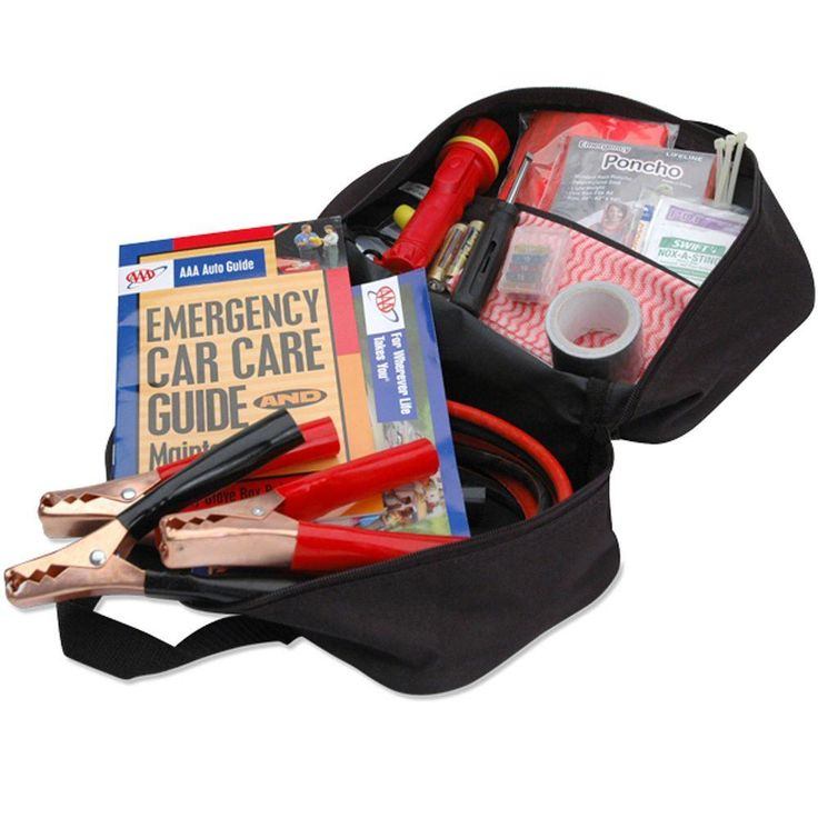 AAA Emergency Roadside Safety and First Aid Kit 42 Piece-4330AAA - The Home Depot