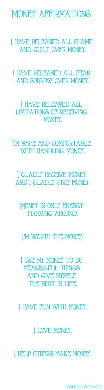 Money affirmations http://www.loaspower.com/smart-social-media-user/