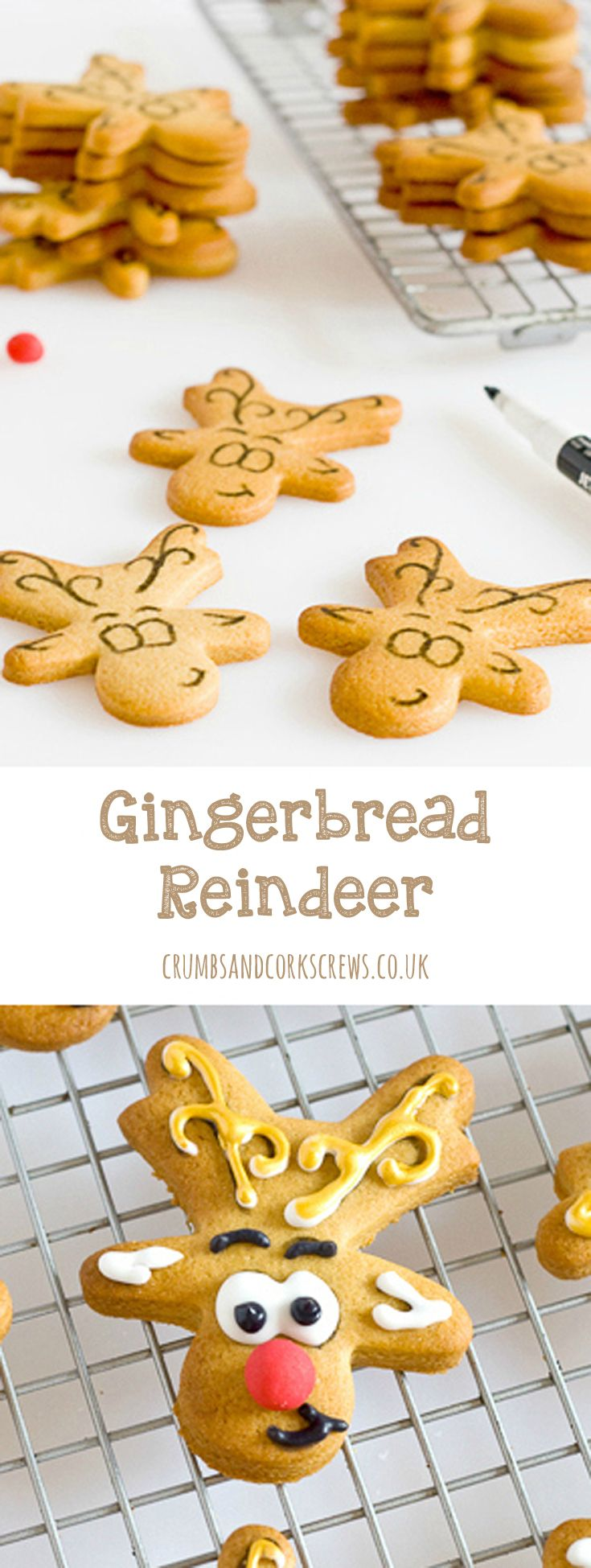 Picture if you will, a week before Christmas and a beautiful winter wedding, deep in the heart of the Cotswolds, full of sparkle and magic, glamour and elegance, and oh…. gingerbread reindeer!