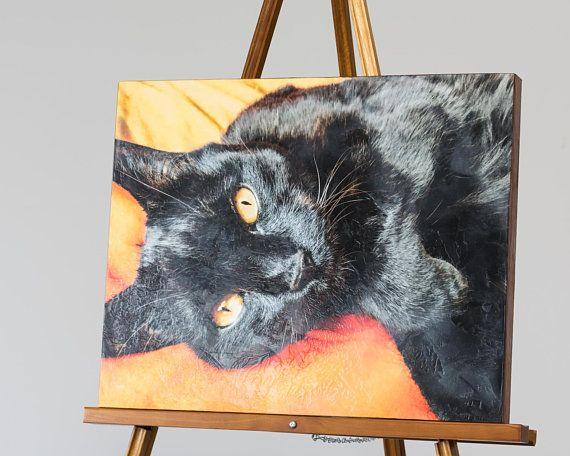 Custom Pet Memorial Portraits Encaustic Wall Art Of Your Dog Or