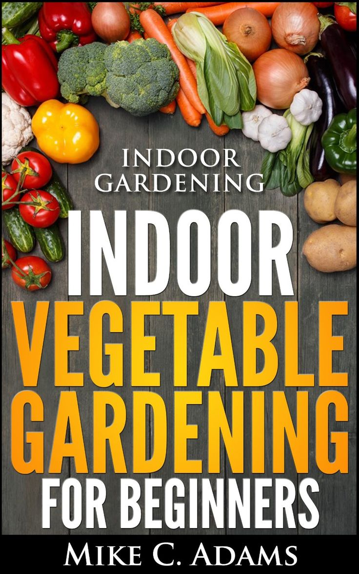 Indoor Gardening : Indoor Vegetable Gardening For Beginners