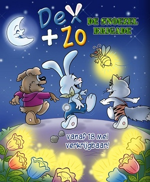 Dex+Zo, de snoezelbrigade, een boek met een bijzondere missie!