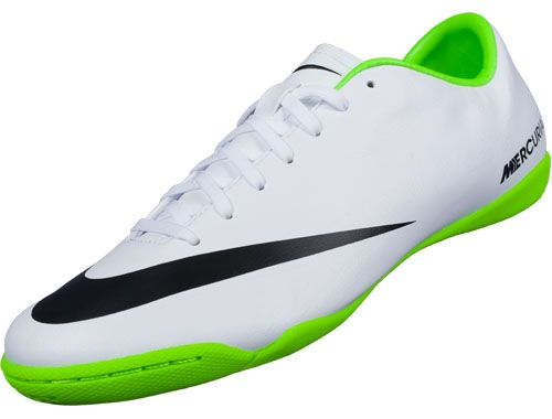 Nike Mercurial Victory V TF Fluorescnet Green Pink $61.99; Nike Mercurial  Victory IV Indoor Soccer Shoes - White & Electric Green...Available