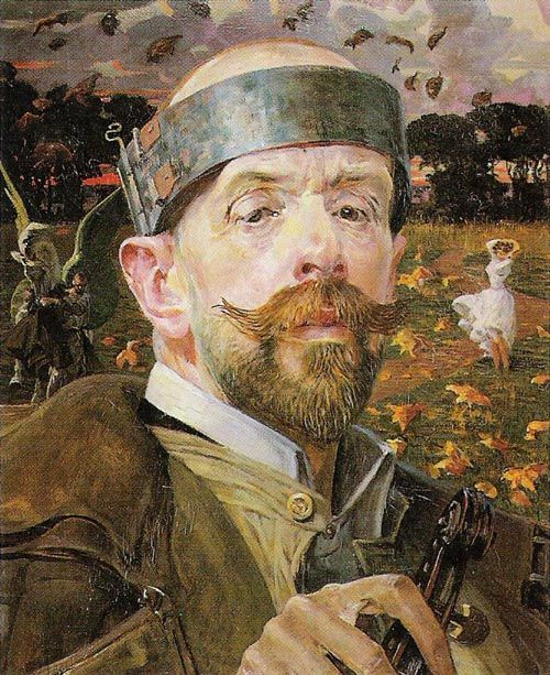 zombienormal: Self Portrait, Jacek Malczewski...
