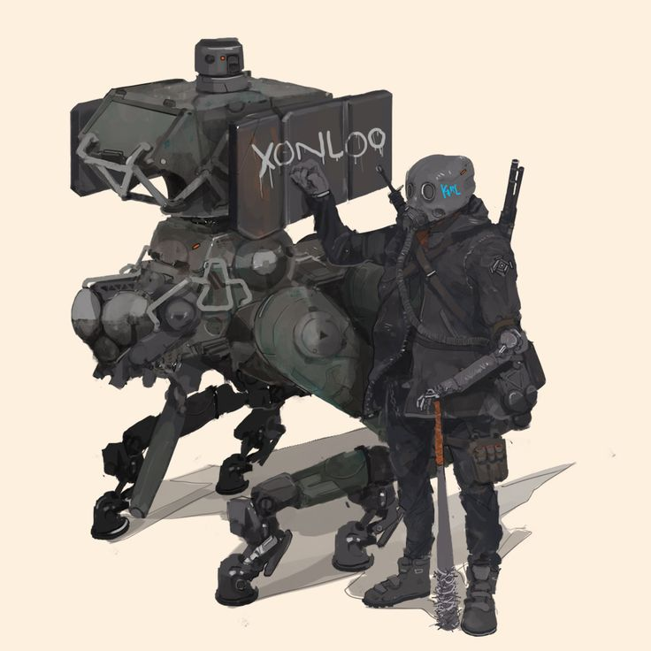 Near future - post apocalypse companion, Aedel Fakhrie on ArtStation at https://www.artstation.com/artwork/mee4Y