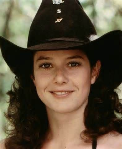 In college, I was told I looked like her.....debra winger.....urban cowboy....love it..