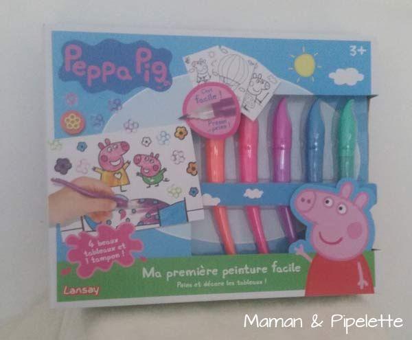 On a testé Peppa Pig la peinture facile pour les enfants dès 3 ans.