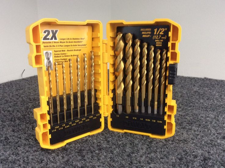 Dewalt 21 Piece Drill Bit Set Priced at $19.99 available at Gadgets and Gold!