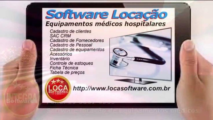 Software locação de equipamentos médicos e hospitalares