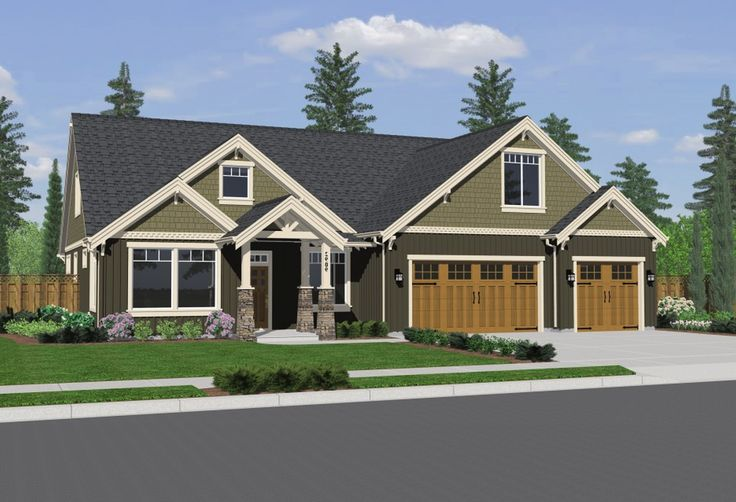 Single story craftsman style homes house plans endearing new two story house plans post - Acrylic paint exterior plan ...
