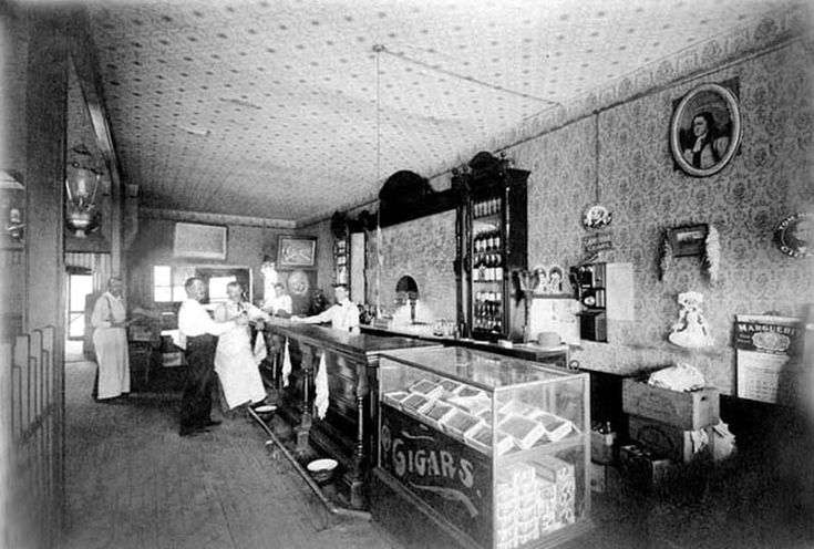 Pappe's Saloon in Kingfisher, Oklahoma , 1901
